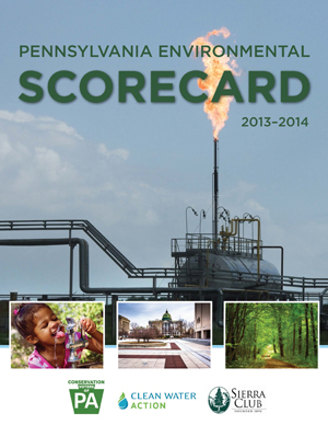 2013 - 2014 Pennslyvania Environmental Scorecard
