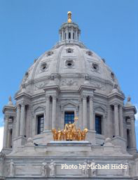 Minnesota Capitol photo by Michael Hicks