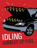 No idling poster, ver. 7