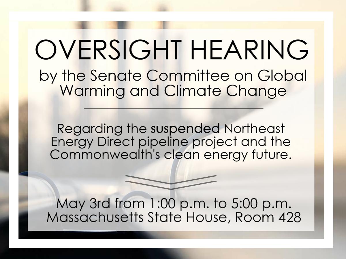 Climate Hearing May 3
