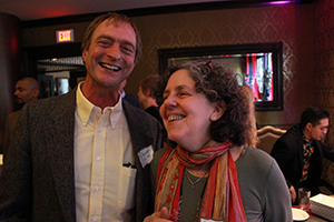 What's so funny, Chris Bathurst and Janet Domenitz?