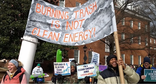 Burning trash is not clean energy