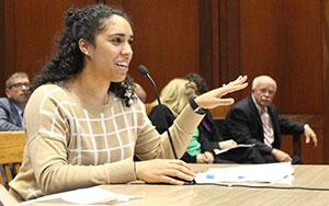 Kadineyse testifying