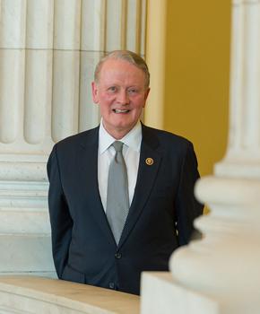 Representative Leonard Lance (R. NJ7). Courtesy of his office