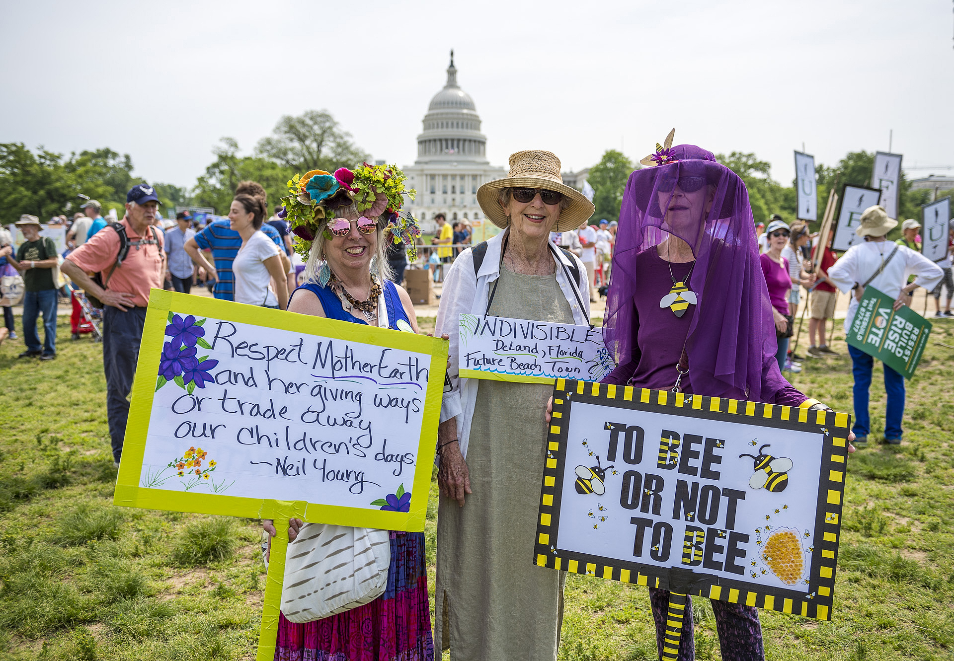 Peoples Climate March by photographer Greg Leshe _ NewJersey