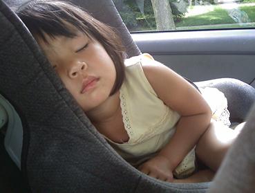 Kid asleep
