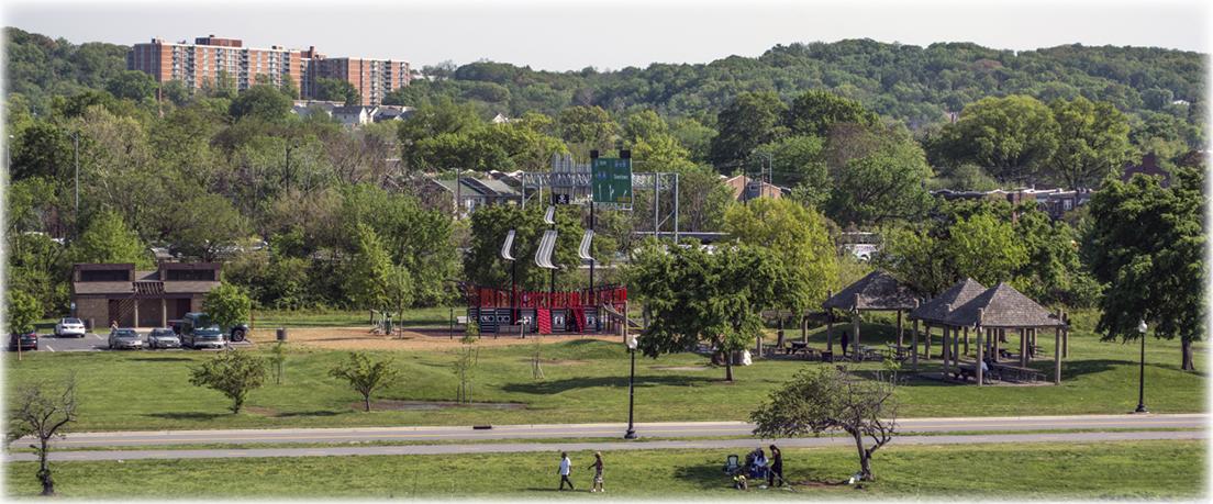 A park along the Anacostia