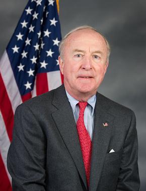 Representative Rodney Frelinghuysen (R. NJ11). Courtesy of his office