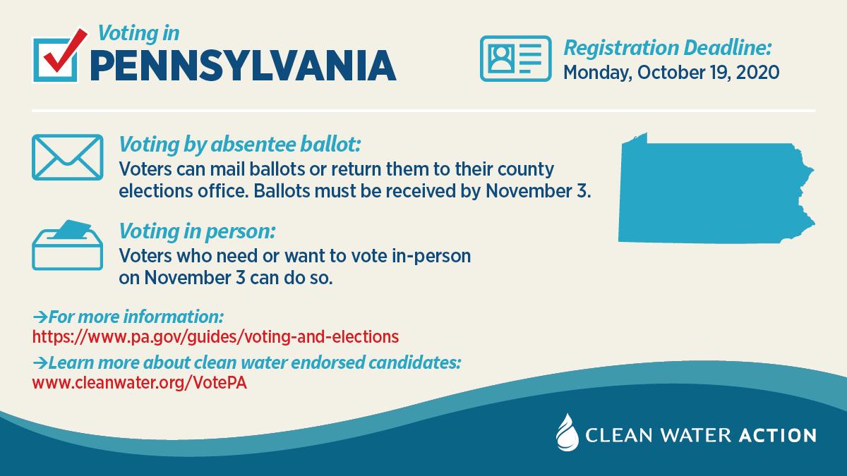 Pennsylvania voter information