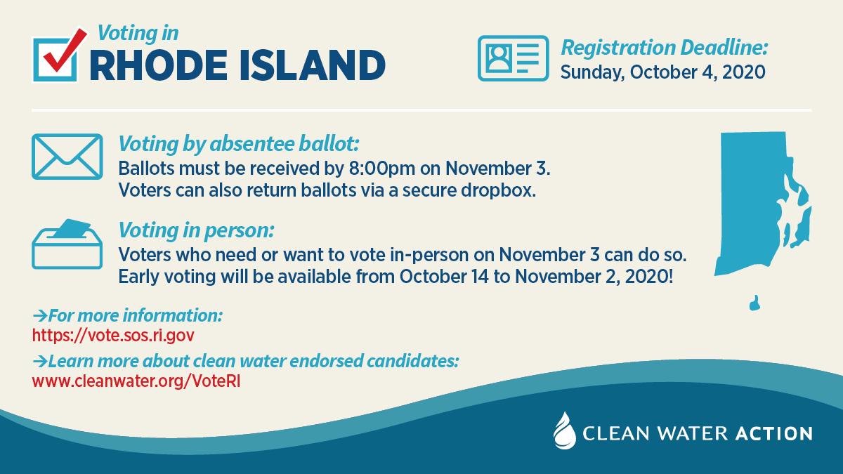 Rhode Island voter information