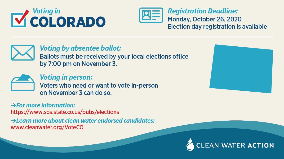 Colorado voter information
