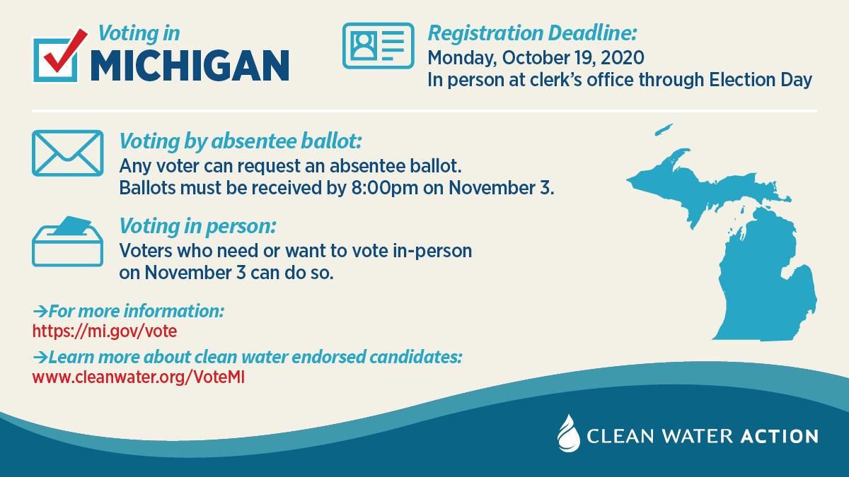 Michigan voter information