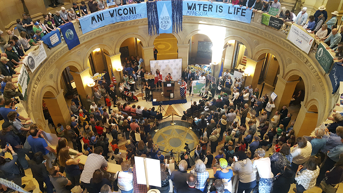 Water Action Day 2018 at the Minnesota Capitol