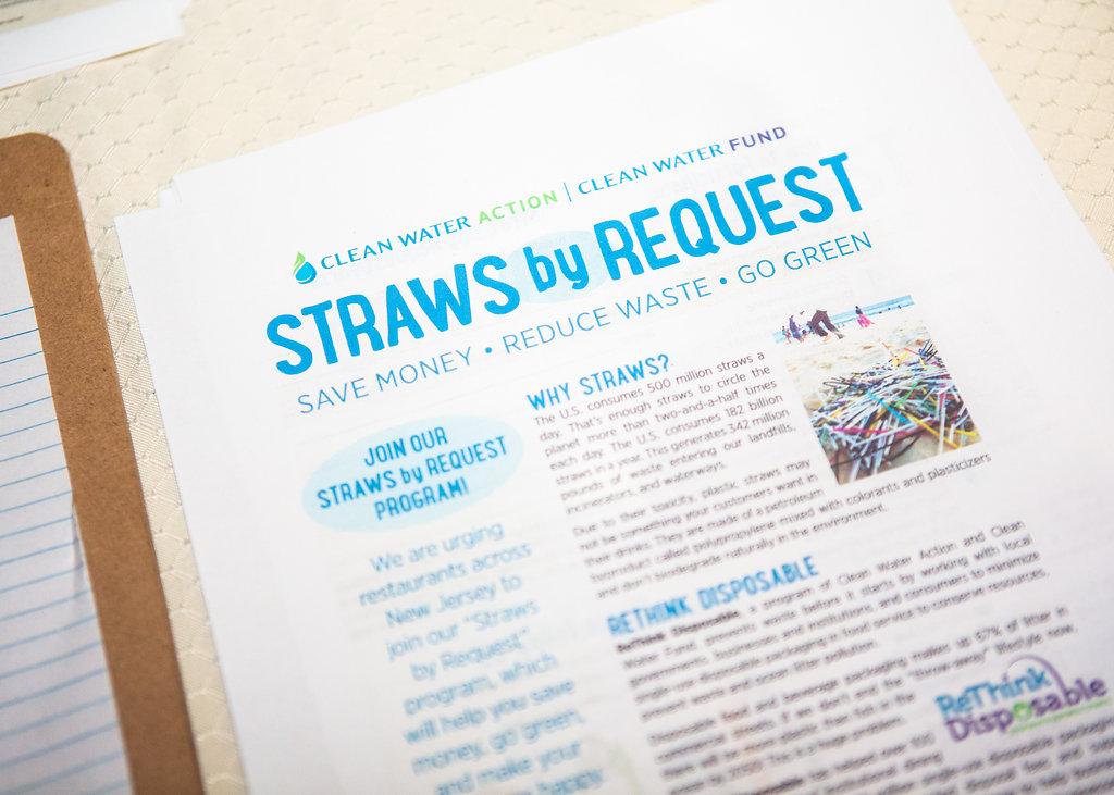 Straws By Request_NewJersey_ReThinkDisposable_Photo by Okie Dokie Studio