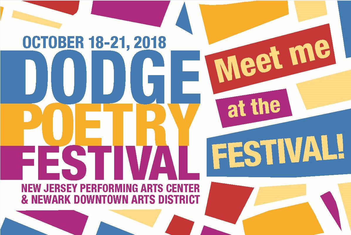 NJ_Dodge Poetry Festival 2018