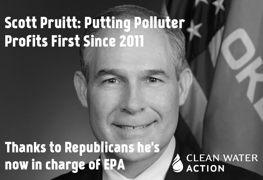 Send a message to the Senate about Scott Pruitt