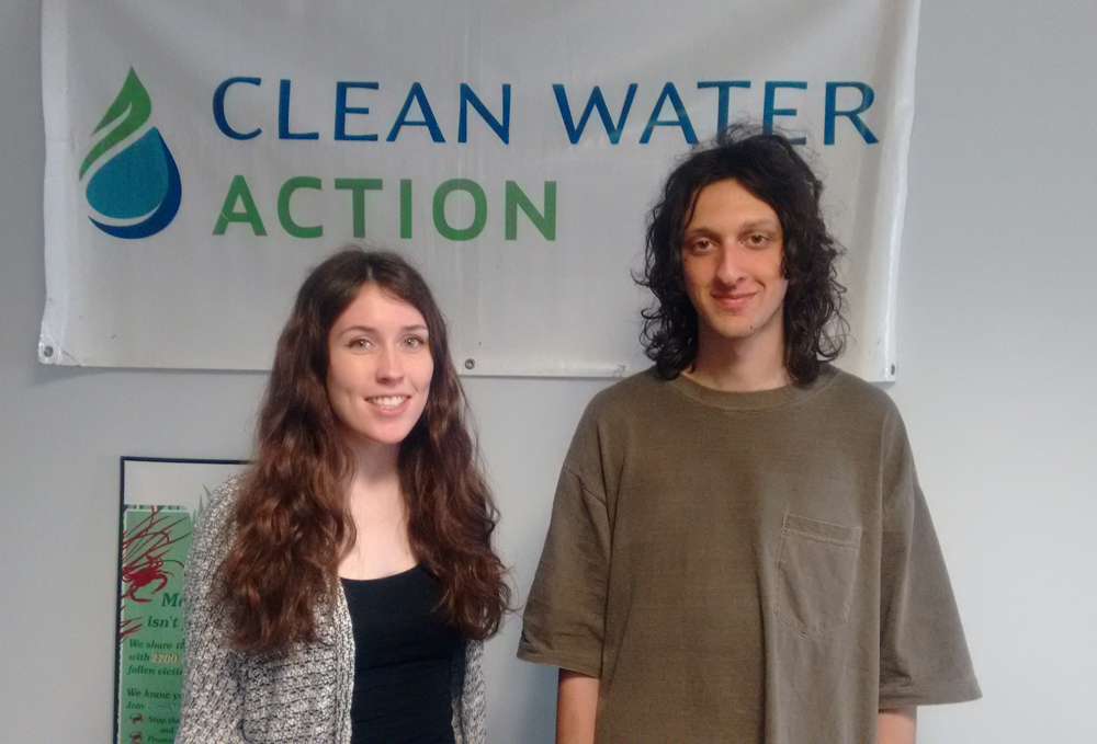 Abagail and Sam - Clean Water Interns.