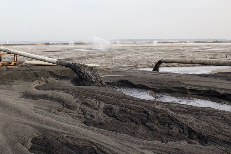 A coal ash dump. Photo Credit: Nenad Zivkovic / Shutterstock