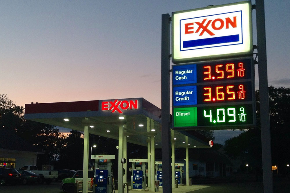 Exxon station / photo: flickr.com/jeepersmedia cc