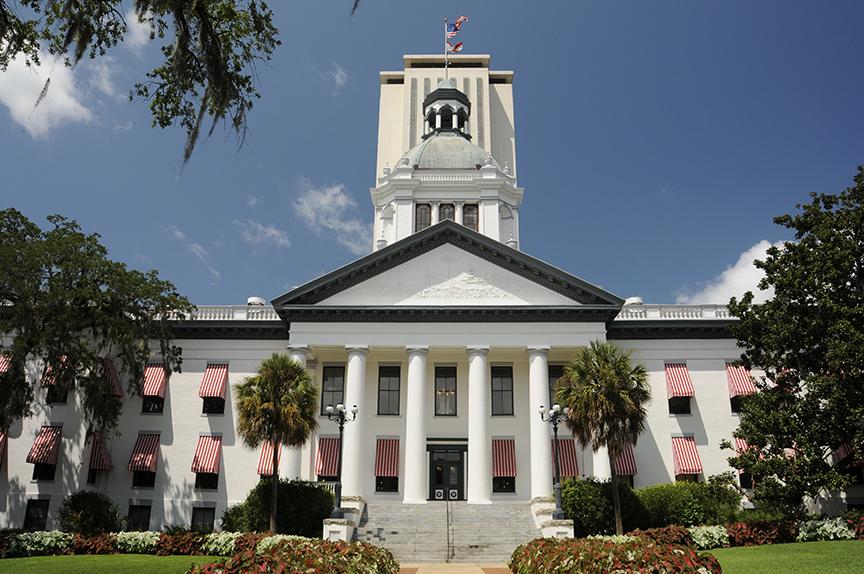 Florida Capitol Building / photo: istock, happyjones