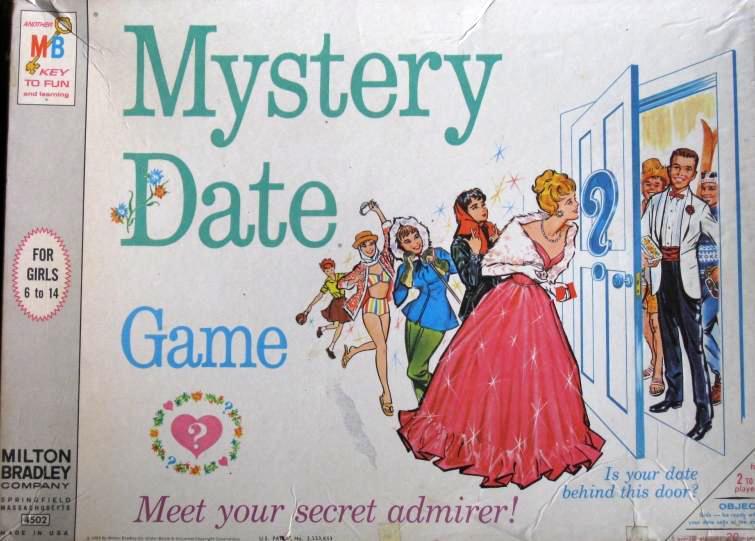 Mystery Date game box / via J. Van Meter on wikipedia, cc