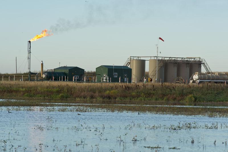 Fracking operations in North Dakota