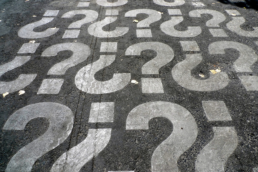 question mark / photo: flickr.com/debord (CC BY-NC 2.0)