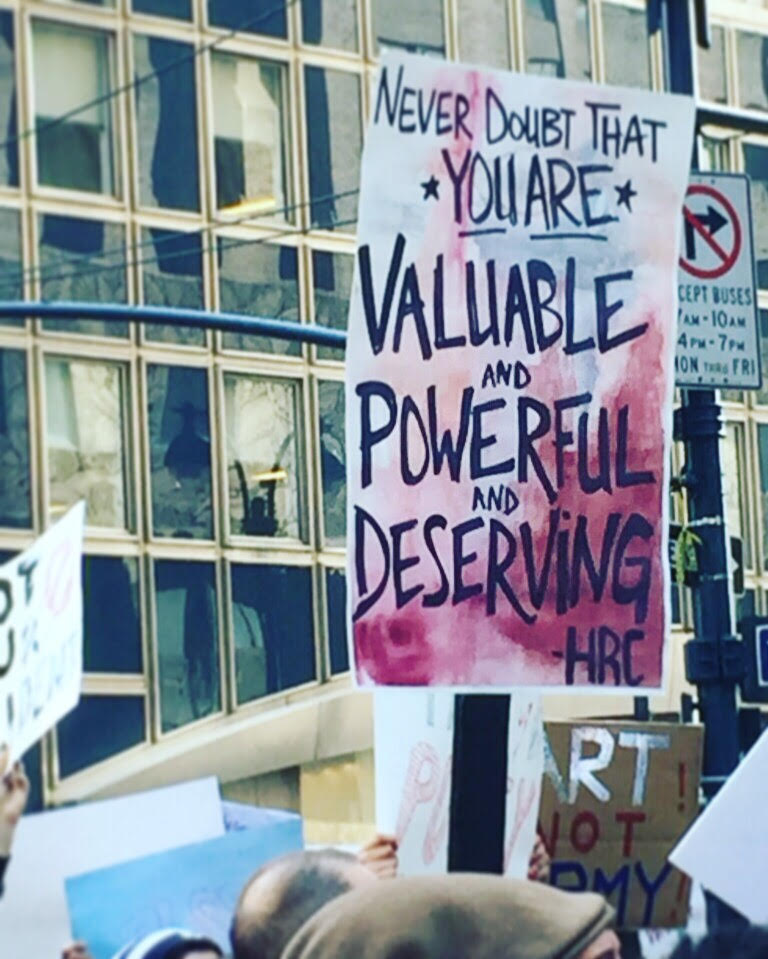nyc march photo by amy goldsmith