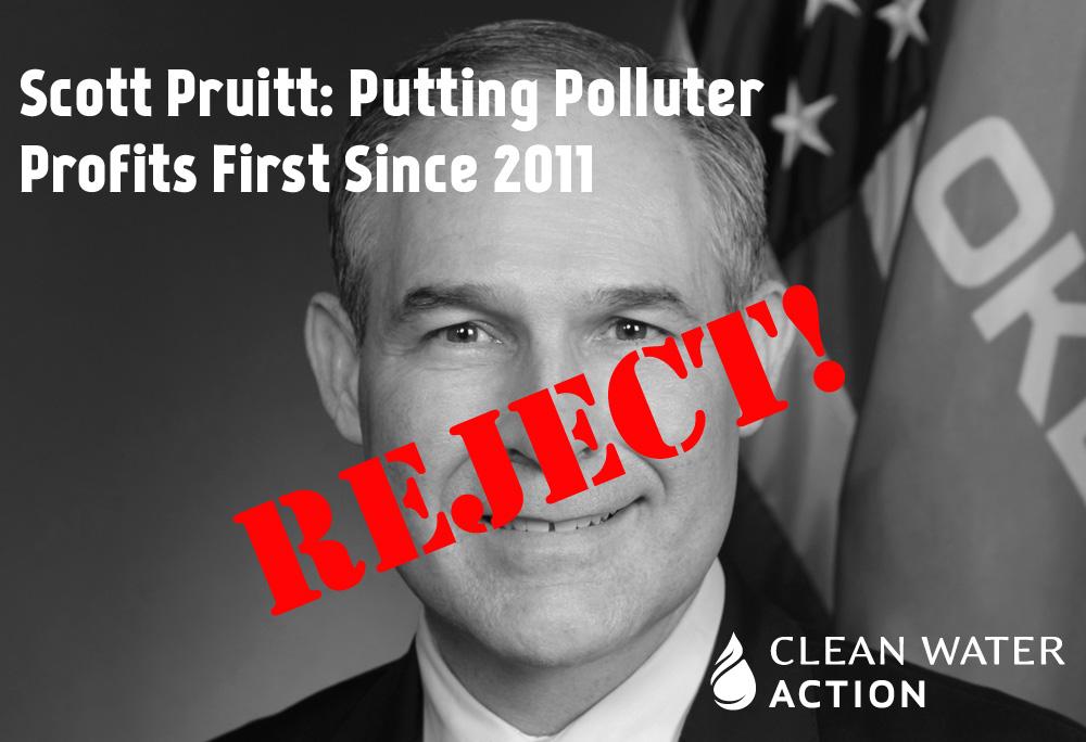 Scott Pruitt: Unfit to lead EPA