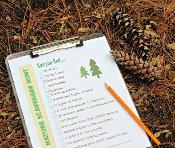 national_nature-scavenger-hunt-ideas from barista.net