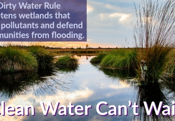 Stop the dirty water rule!