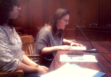 Dr. Hannah Gardner testifies on MA Disclosure of Toxic Chemicals Bill