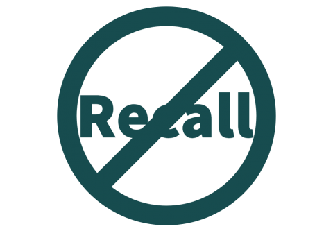 Reject the recall of Governor Newsom