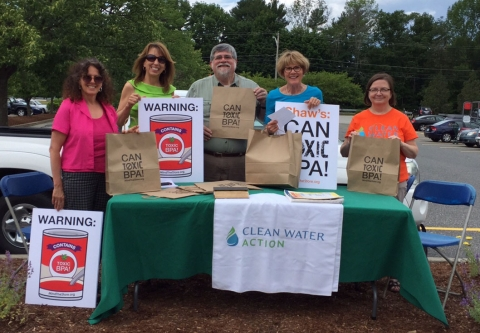 Pushing for safer chemicals at Shaw's Market