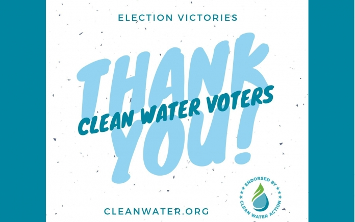 Clean Water Voters came out!