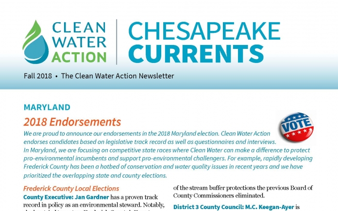 Chesapeake Currents -- Fall 2018
