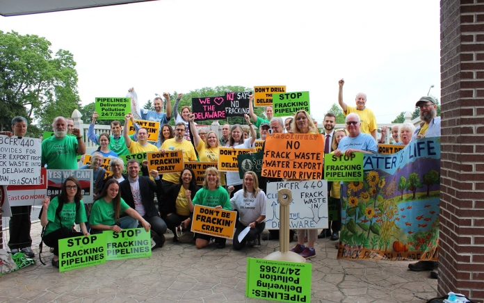 NJ_Fracking_DRBC_Coalition_Photo by Delaware Riverkeeper Network