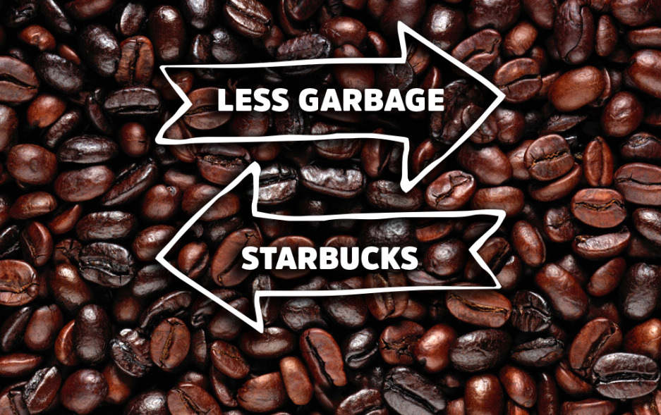 Starbucks is part of the plastic pollution problem