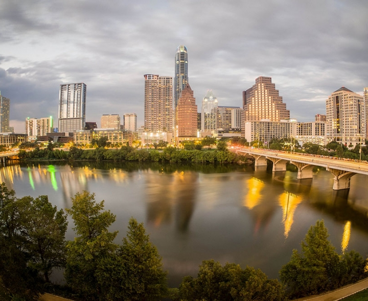 Austin skyline / photo: flickr.com/normlanier (CC BY-NC 2.0)