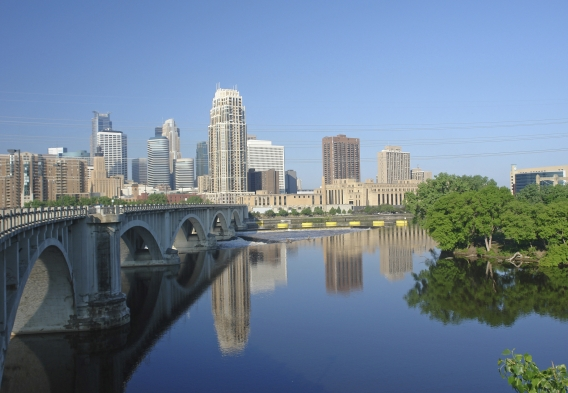 MInneapolis skyline, photo: istock, stevieg999