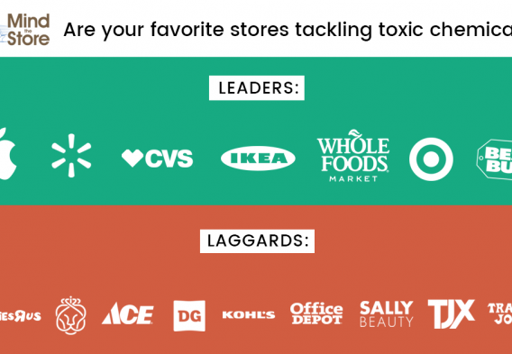 Leaders and laggards on toxic chemicals
