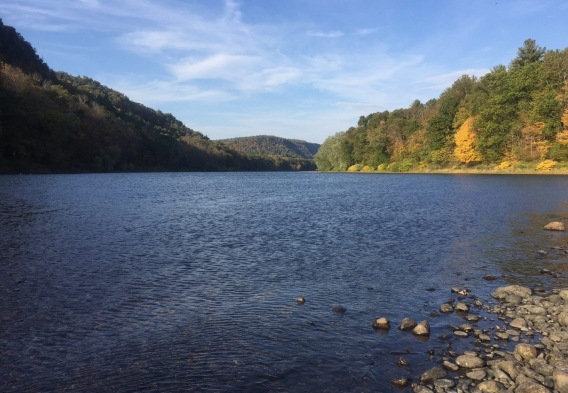 Delaware River photo by Delaware Riverkeeper Network